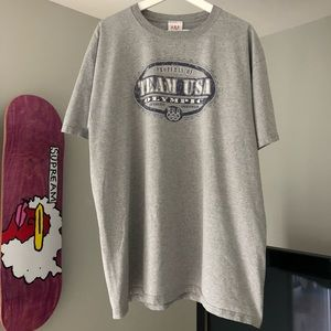 Vintage U.SA Olympic Team T-Shirt Size 2XL